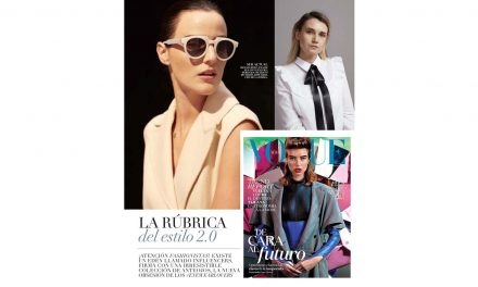 Mar 2017 – Vogue – Spektre sunglasses
