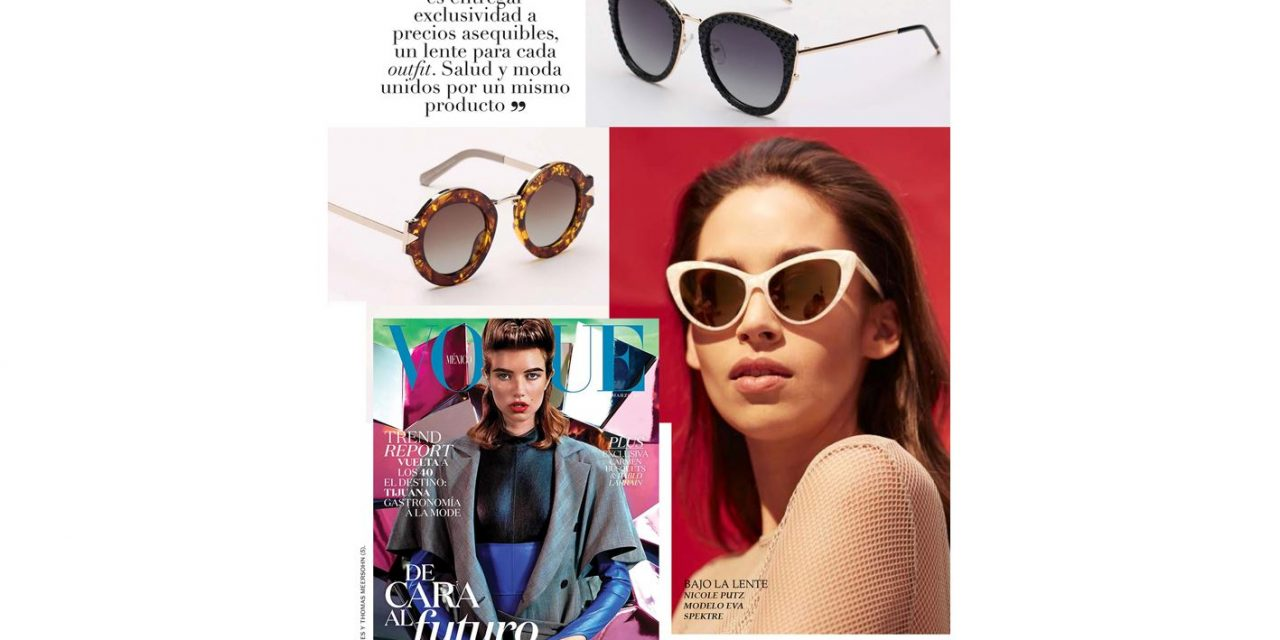 Mar 17 – Vogue Mexico and Latino America – Spektre sunglasses