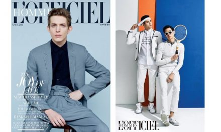 April 2016 – LOfficiel – Spektre