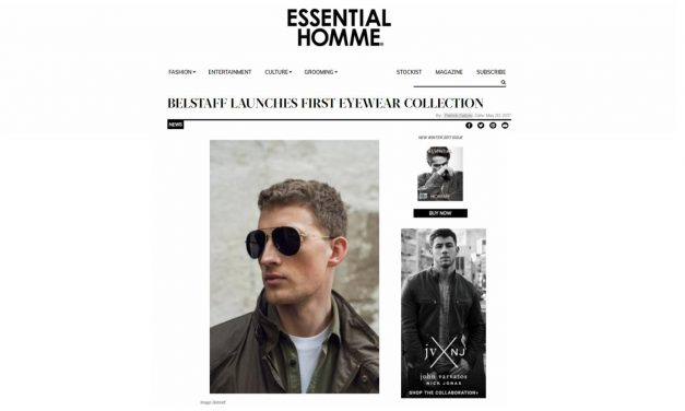FEB 2018 – ESSENTIAL HOMME – BELSTAFF